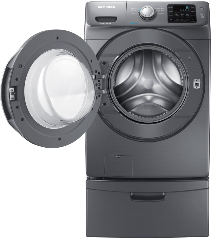 samsung wf42h5200ap shown with pedestal sold separately