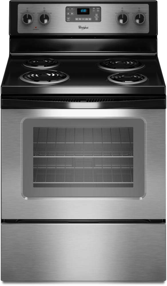 Whirlpool Wfc310s0as 30 Inch Freestanding Electric Range
