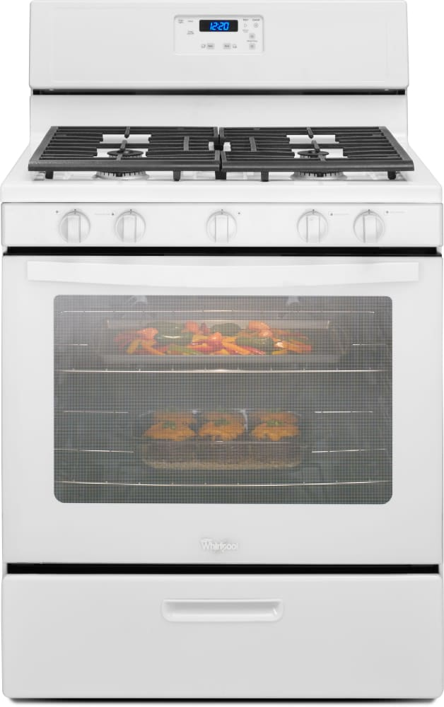 Whirlpool Wfg505m0b 30 Inch Freestanding Gas Range With