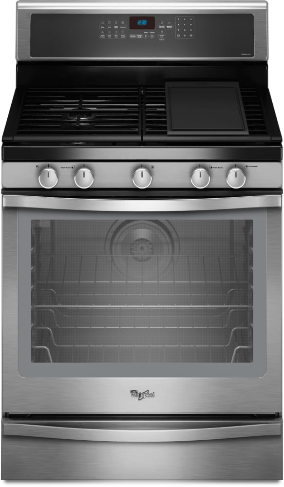 Whirlpool Wfg710h0as 30 Inch Freestanding Gas Range With 4