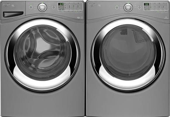 Whirlpool Wfw86hebw 27 Inch Front Load Steam Washer With 4