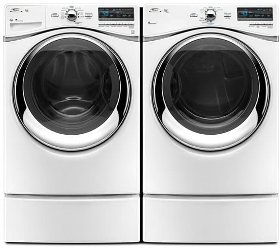 Whirlpool Wed94hexw 27 Inch Electric Dryer With 7 4 Cu Ft