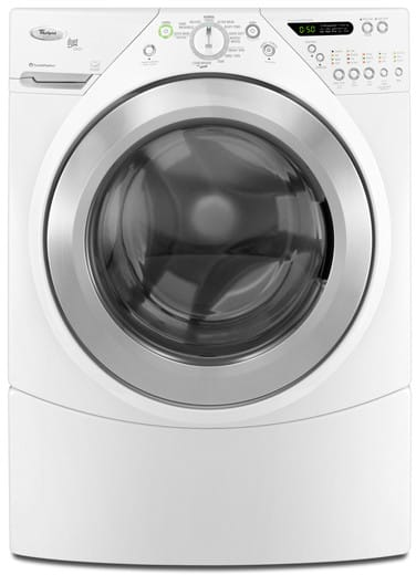Whirlpool Wfw9550ww 27 Inch Front Load Washer With 3 8 Cu