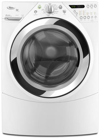 Whirlpool Wfw9750ww 27 Inch Front Load Steam Washer With 3