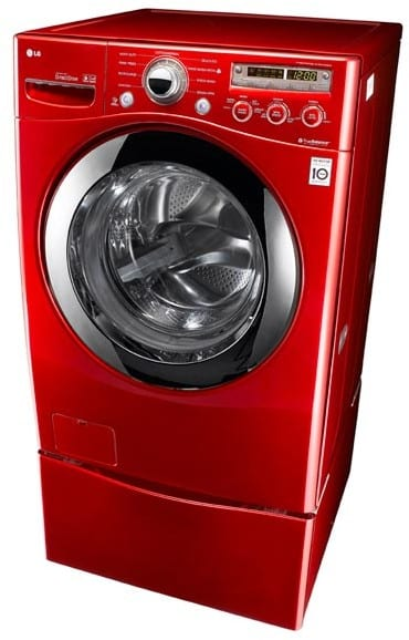 Lg Wm2350hrc 27 Inch Front Load Washer With 3 7 Cu Ft