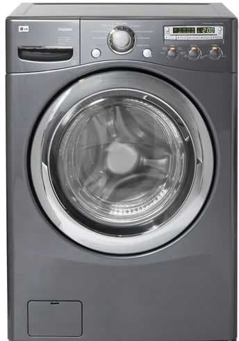 Lg Wm2455hg 27 Inch Front Load Washer With 4 2 Cu Ft