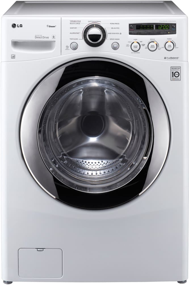 Lg Wm2650hwa 27 Inch 3 6 Cu Ft Front Load Washer With 9