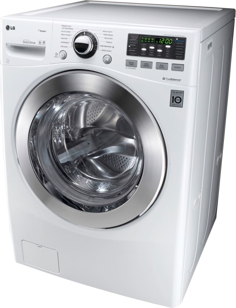Lg Wm3070hwa 27 Inch Front Load Washer With 3 7 Cu Ft