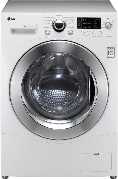 Lg Wm3455hw 24 Inch Front Load Compact Washer Dryer Combo