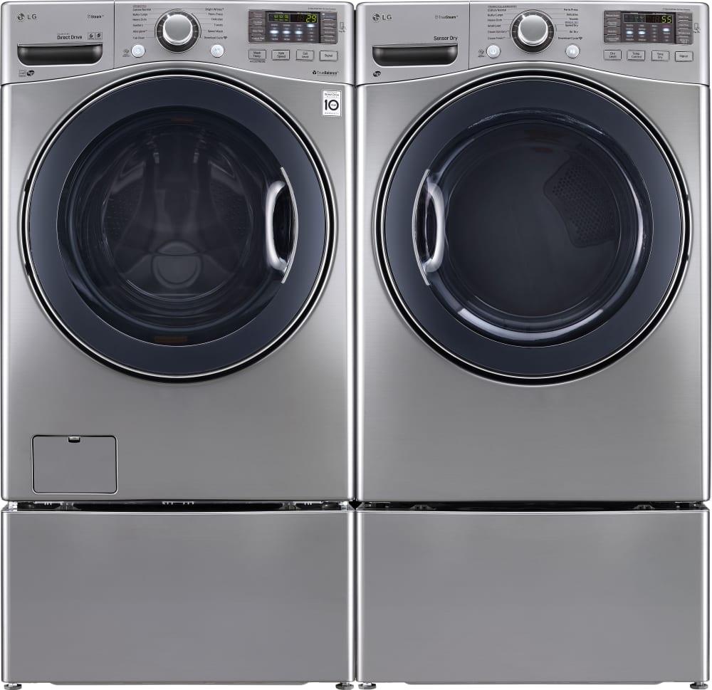 LG DLGX3571V 27 Inch Gas Dryer with TrueSteam™ Technology ...