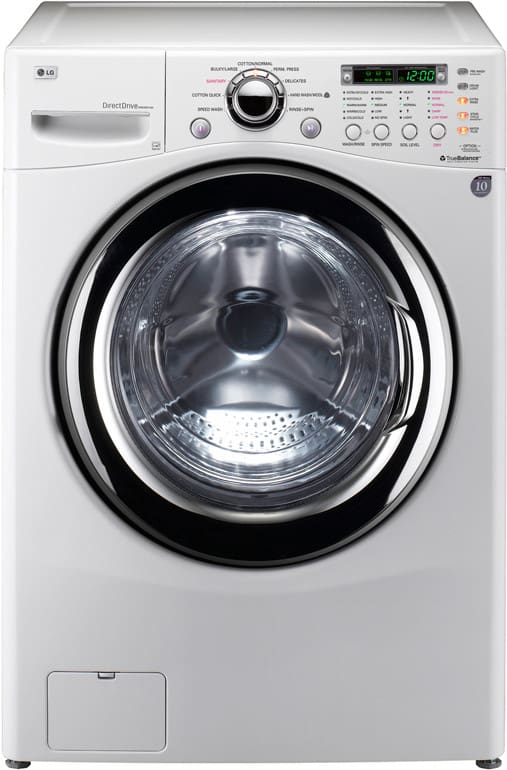Lg Wm3987hw 27 Inch Front Load Washer Dryer Combo With 4 2