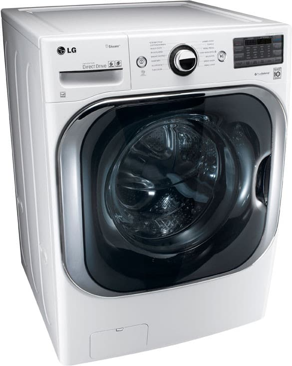 Lg Wm8000hwa 29 Inch 5 1 Cu Ft Front Load Washer With 14