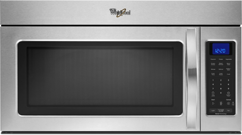 Whirlpool Wmh32517as 1 7 Cu Ft Over The Range Microwave