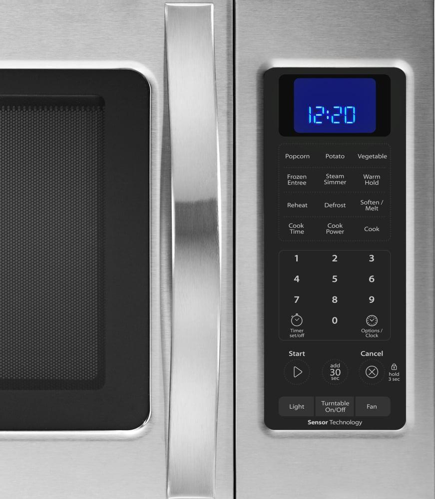Whirlpool Wmh32519cs 1 9 Cu Ft Over The Range Microwave