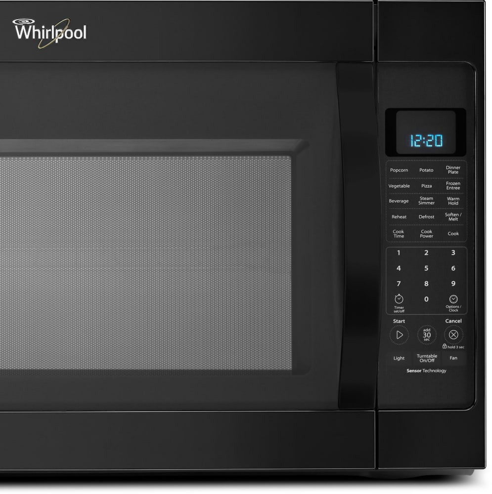 Whirlpool Wmh53520cb 2 0 Cu Ft Over The Range Microwave