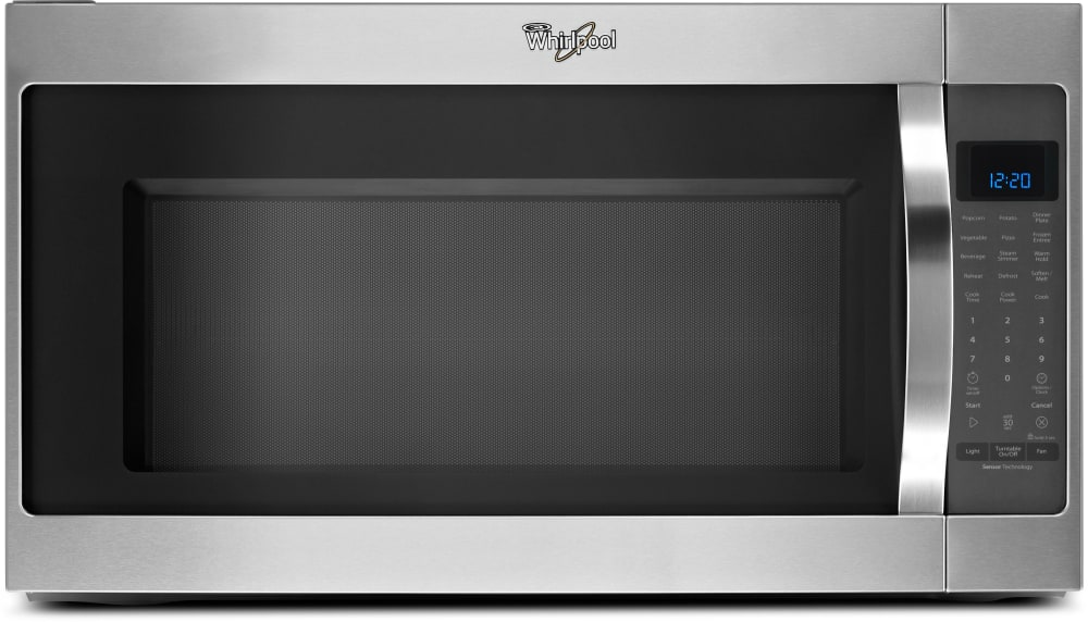 Whirlpool wmh53520cs 2 0 cu ft over the range microwave - How to vent a microwave on an interior wall ...