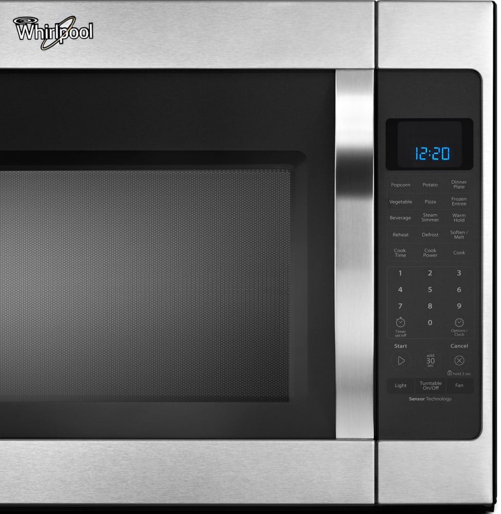 Whirlpool white ice microwave dimensions -  Whirlpool Wmh53520cs Control Panel