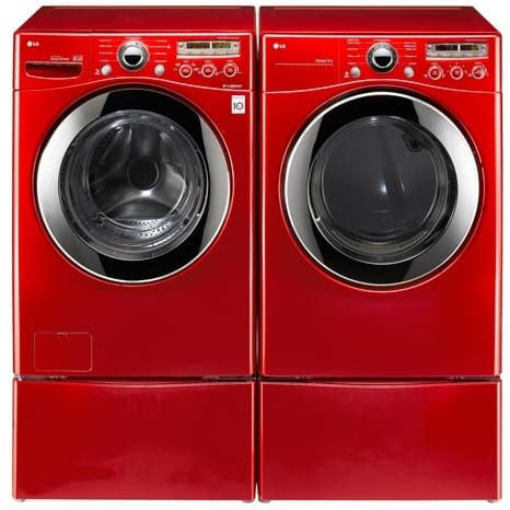 LG WM2350HRC 27 Inch Front-Load Washer with 3.7 cu. ft ...