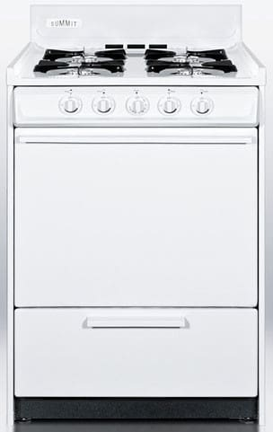 summit wlm110p 20 inch freestanding gas range with 4 open