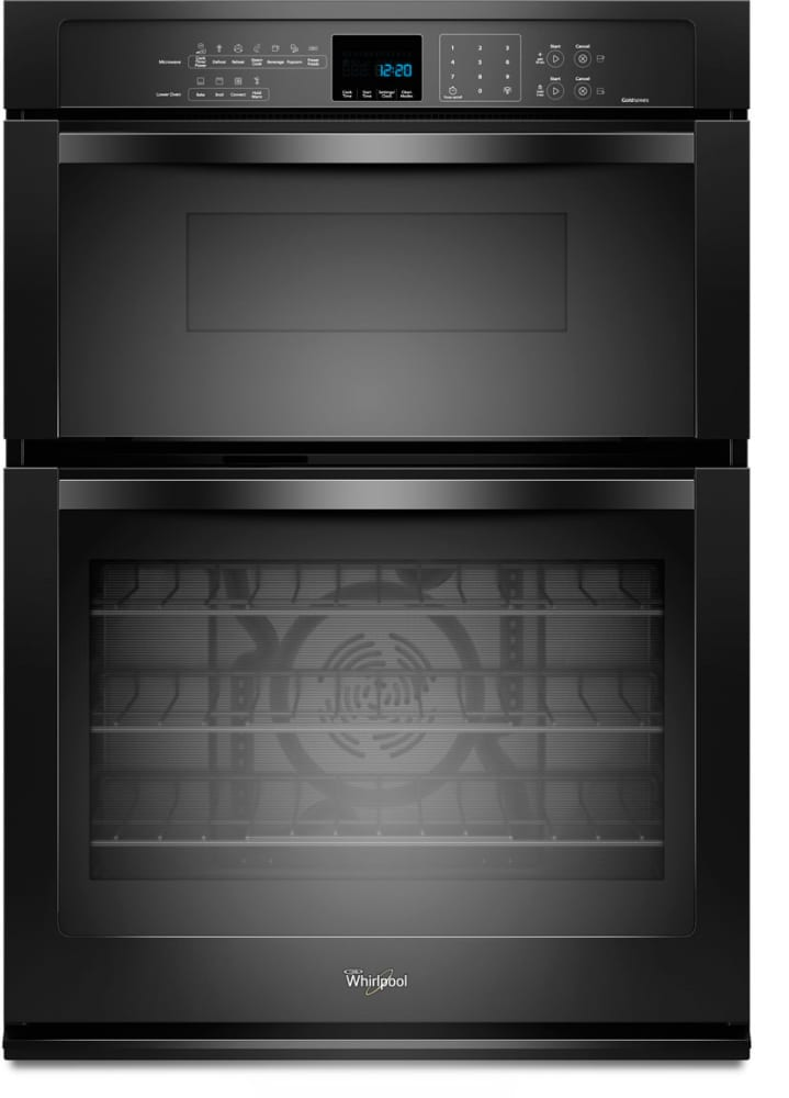 Whirlpool WOC95EC0AB 30 Inch Microwave Combination Wall Oven with ...