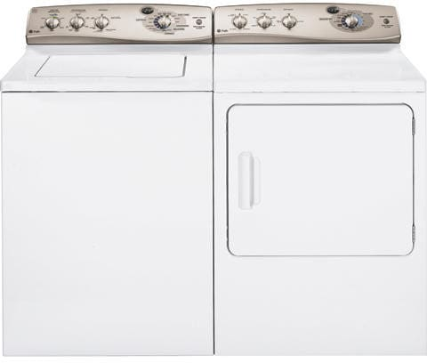 Ge Wpre6150kwt 27 Inch Top Load Washer With 4 1 Cu Ft