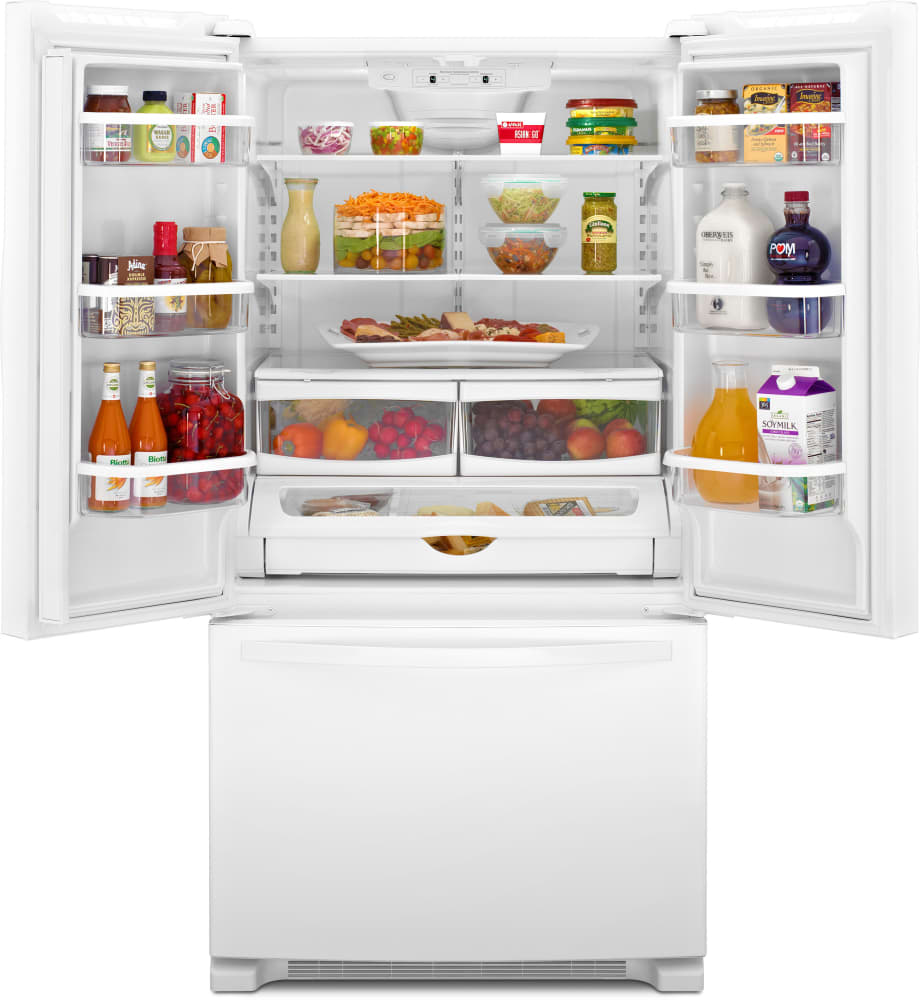 Whirlpool Wrf532smb 33 Inch French Door Refrigerator With