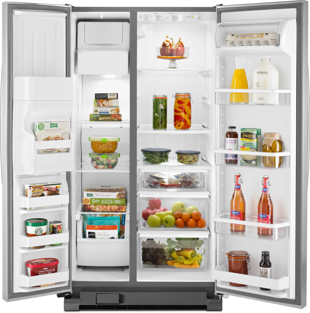 whirlpool wrs325fdam 36 inch side by side refrigerator. Black Bedroom Furniture Sets. Home Design Ideas