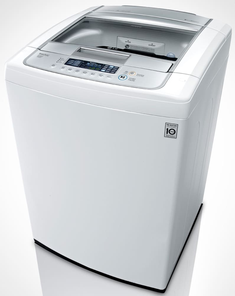 Lg Wt1201cw 27 Inch Top Load Washer With 4 5 Cu Ft