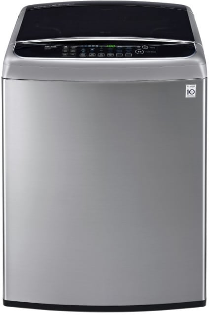 Lg Wt1701cv 27 Inch 4 9 Cu Ft Top Load Washer With 12 Wash Programs 1 100 Rpm Steam Turbowash Sanitize With Oxi Speed Wash Staincare Smartdiagnosis Auto Suds Removal And Energy Star Certification Graphite Steel
