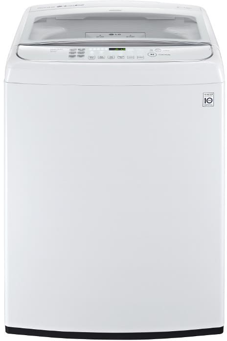 Lg Wt1701cw 27 Inch 4 9 Cu Ft Top Load Washer With 12 Wash Programs 1 100 Rpm Turbowash Sanitize With Oxi Speed Wash Staincare Smartdiagnosis Auto Suds Removal And Energy Star Certification White
