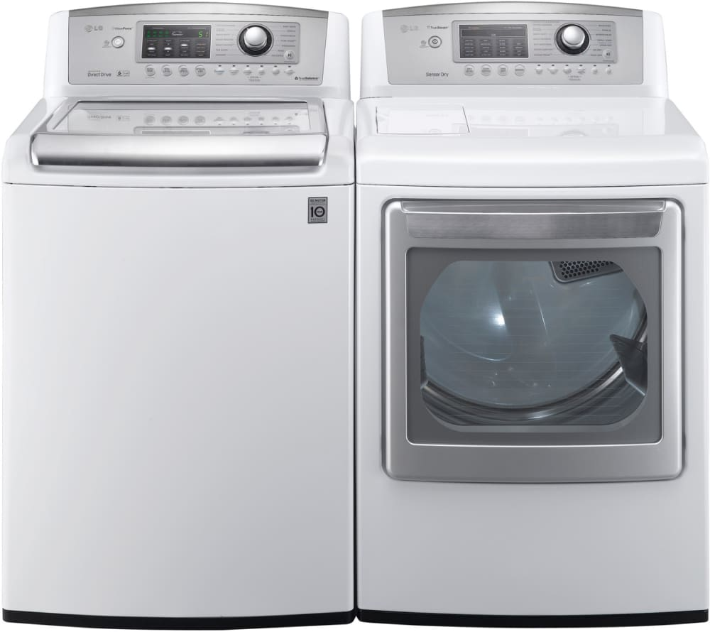 Lg Steamdryer Series Dlgx5171w Laundry Pair