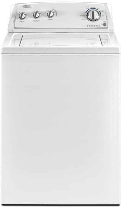 Whirlpool Washer With Agitator >> Whirlpool Wtw4800xq 27 Inch Top Load Washer With 3 4 Cu Ft