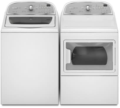 Whirlpool WTW5700XW 27 Inch Top-Load Washer With 3.6 Cu