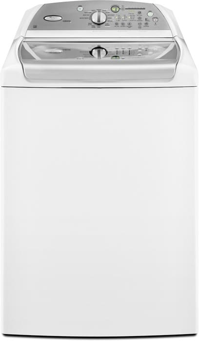 Whirlpool WTW6800WW 28 Inch Top-Loader Washer With 5 Cu