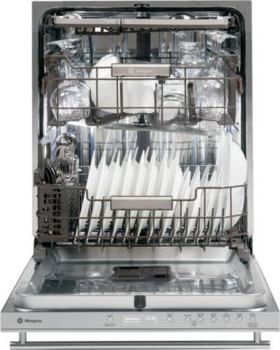 monogram zdt870ssfss fully integrated dishwasher with 16 place settings 7 wash cycles 11. Black Bedroom Furniture Sets. Home Design Ideas