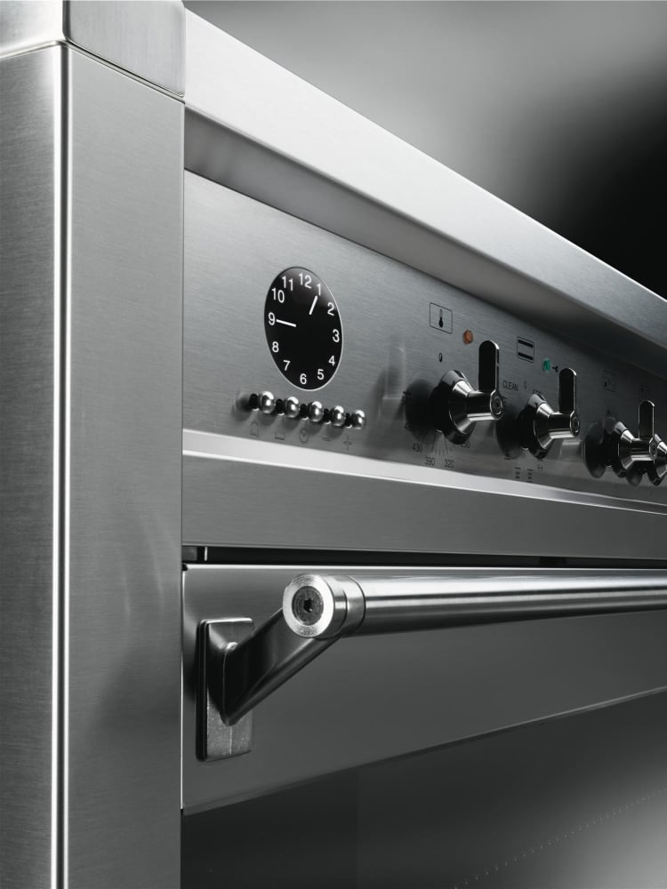 Smeg A1pxu 36 Inch Freestanding Dual Fuel Range With 10