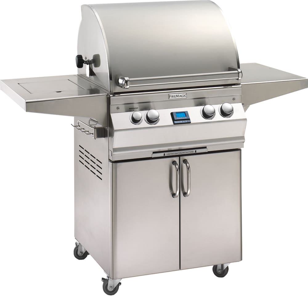 Fire Magic A530S6E1N62 56 Inch Freestanding Gas Grill with ...
