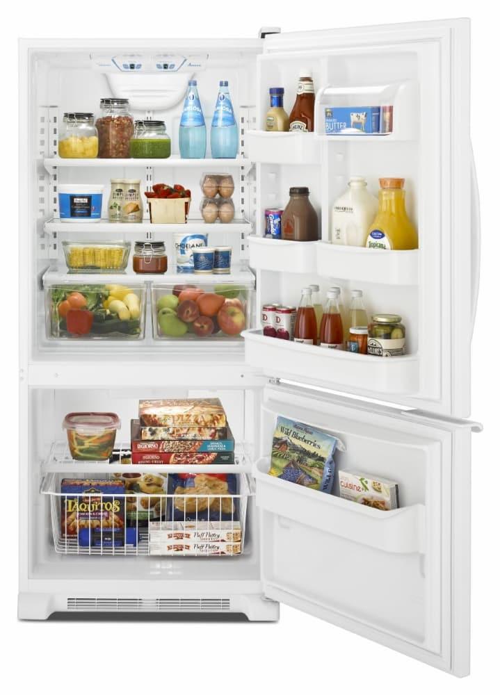 Amana Abb1921brm 18 7 Cu Ft Bottom Freezer Refrigerator