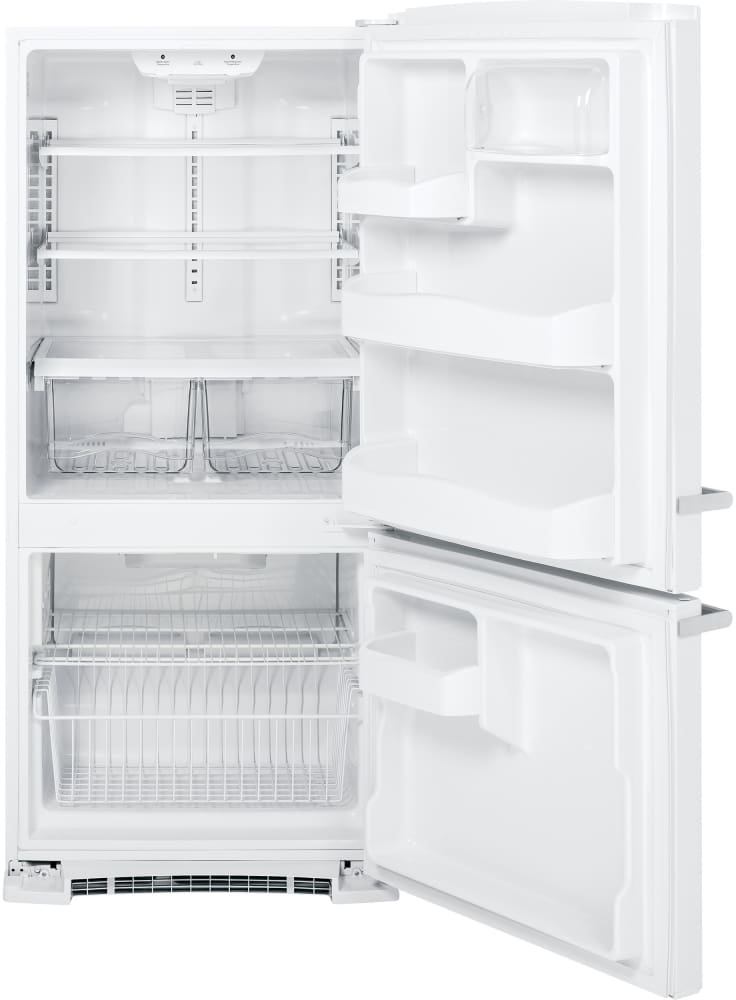 Ge Abe20eghws 30 Inch Bottom Freezer Refrigerator With 20