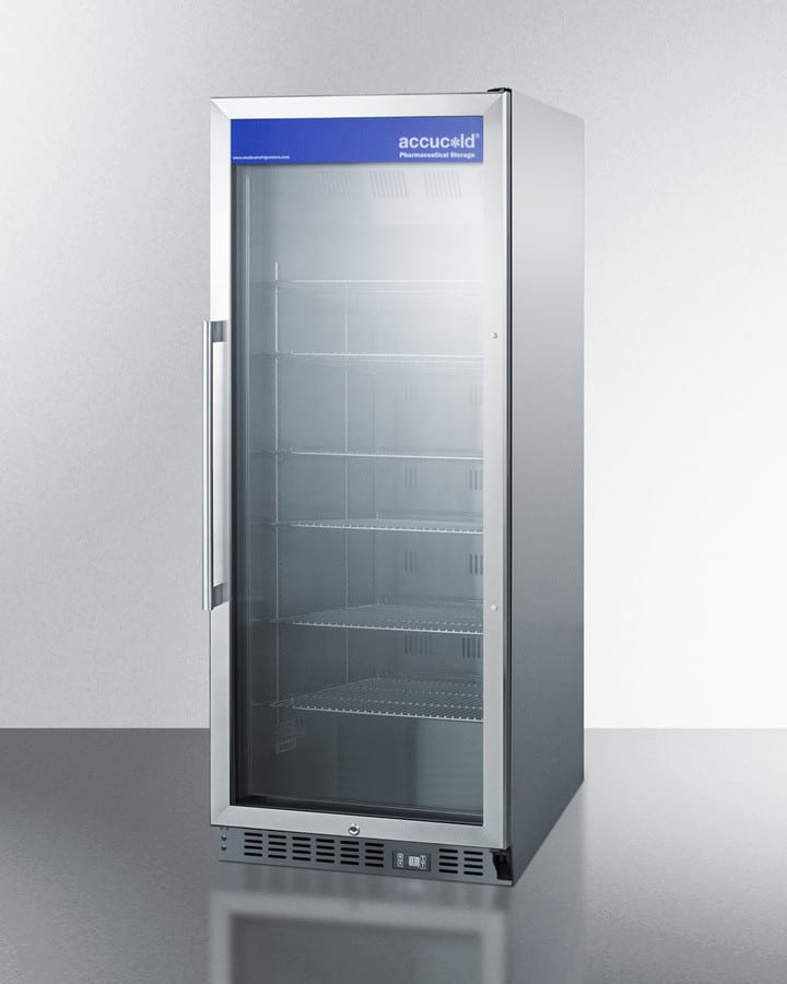 Accucold Acr1151 24 Inch Counter Depth Medical Refrigerator With Stainless Steel Interior