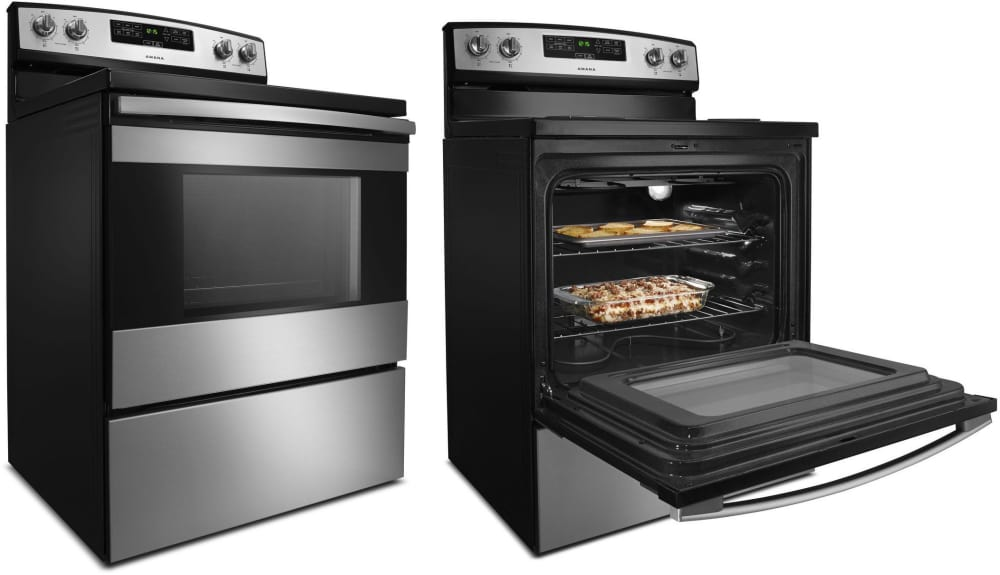 how to set time on amana oven