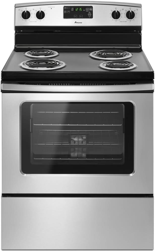 Amana Acr4503ses 30 Inch Freestanding Electric Range With