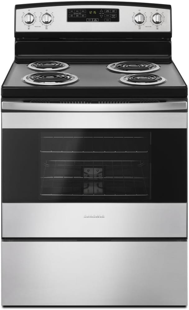 Amana Acr4503sfs 30 Inch Freestanding Electric Range With