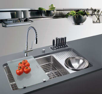 ... Franke AK3990S   Above Sink View ...