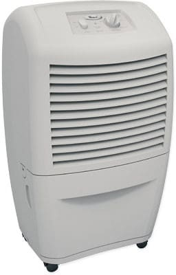 Whirlpool Ad35dss 15 Pint Capacity Dehumidifier With