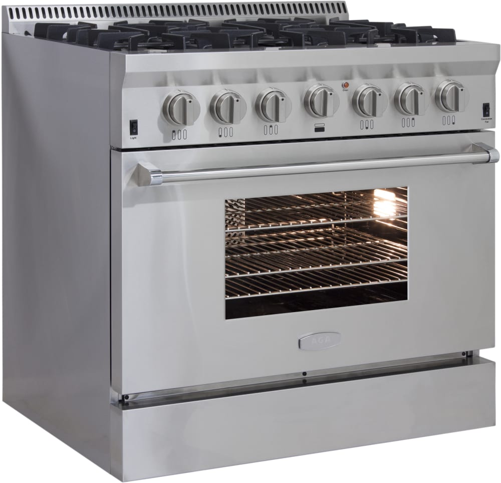 Aga Professional Series Apro36dfss Side View