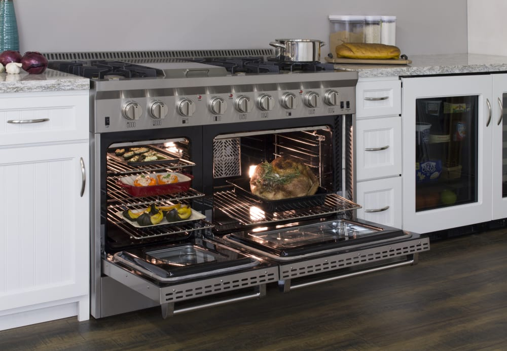 Aga Apro48agss 48 Inch Freestanding Gas Range With