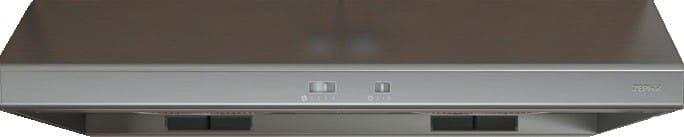 ... Zephyr AK6536BB   Zephyru0027s Cyclone Under Cabinet Range Hood In  Stainless Steel With 600 CFM ...