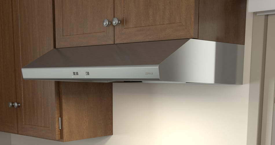 Zephyr Ak6536bb S Cyclone Under Cabinet Range Hood In Stainless Steel With 600 Cfm