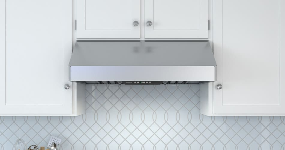 Zephyr ak7000bs 30 inch under cabinet pro style range hood for Zephyr vent hood reviews